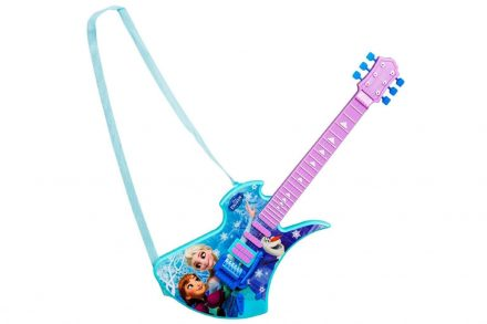 Disney Frozen Deluxe Κιθάρα Παιχνίδι με Ιμάντα Ώμου