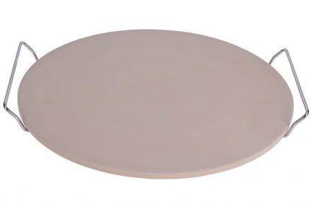Στρογγυλό Ταψί Βάση για πίτσα με Λαβές στήριξης διαμέτρου 33cm