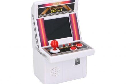 Παιχνιδοκονσόλα Mini Arcade Machine για Ατελείωτες ώρες gaming με 240 Παιχνίδια - Cb