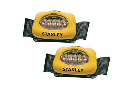 Stanley Σετ Φακός Κεφαλής 2 τεμαχίων με 5 Led και 3 διαφορετικές λειτουργίες