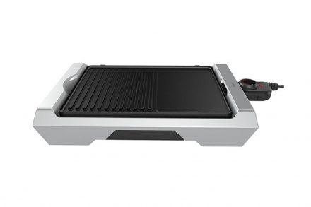 Homa Ηλεκτρική Αποσπώμενη Πλάκα Ψησίματος Γκριλ Grill Plate 2000W από Αλουμίνιο και Αντικολλητική επίστρωση σε Μαύρο-Λευκό χρώμα