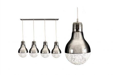 Φωτιστικό Οροφής με 4 κρεμαστές λάμπες