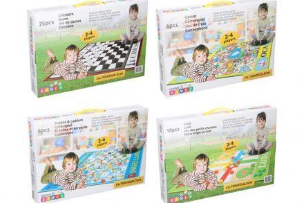 Επιτραπέζιο παιχνίδι δαπέδου σε μορφή μοκέτας