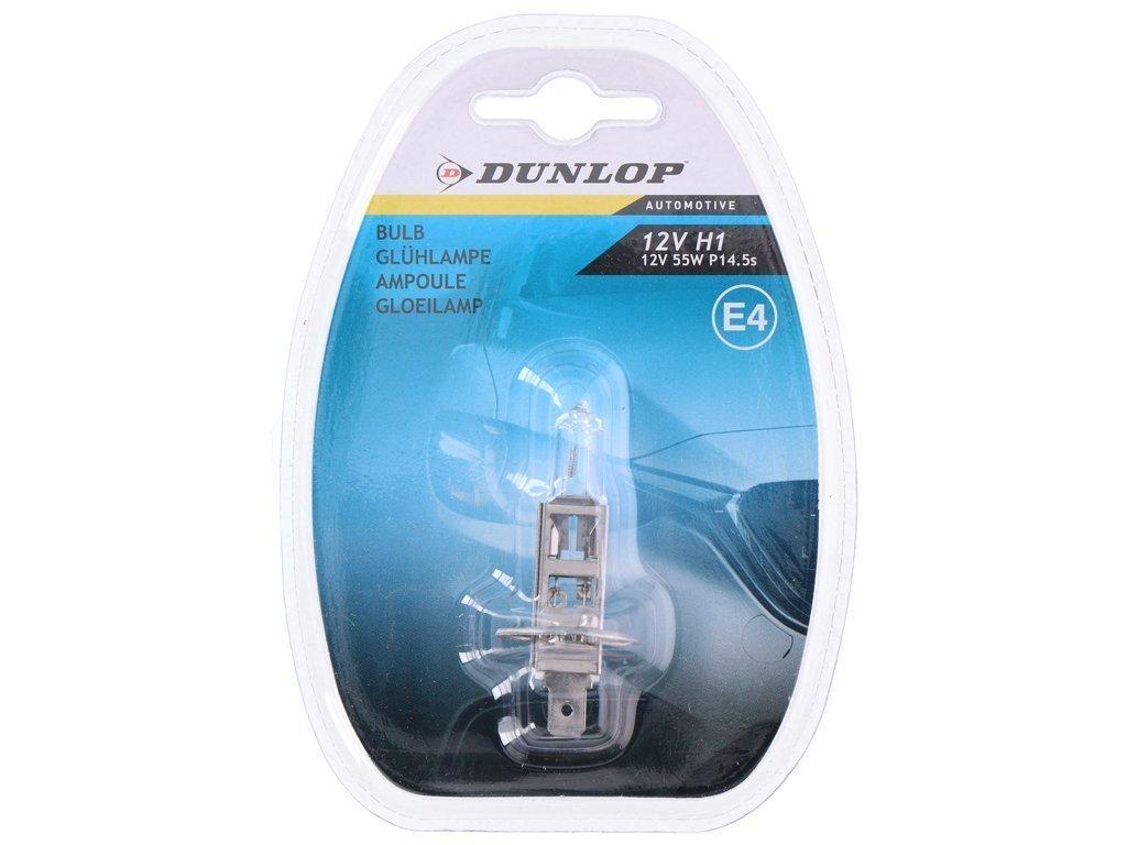 Dunlop Λάμπα Αυτοκινήτου H1 12V 55W E22