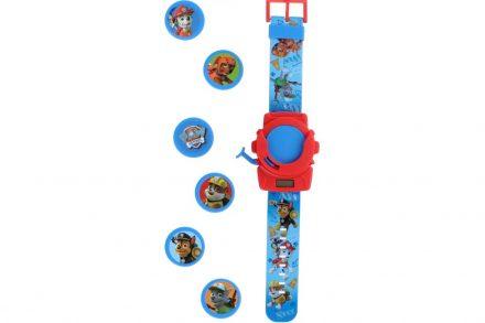 Παιδικό Ψηφιακό Ρολόι με θέμα Paw Patrol σε Μπλε χρώμα με στόχους - Nickelodeon