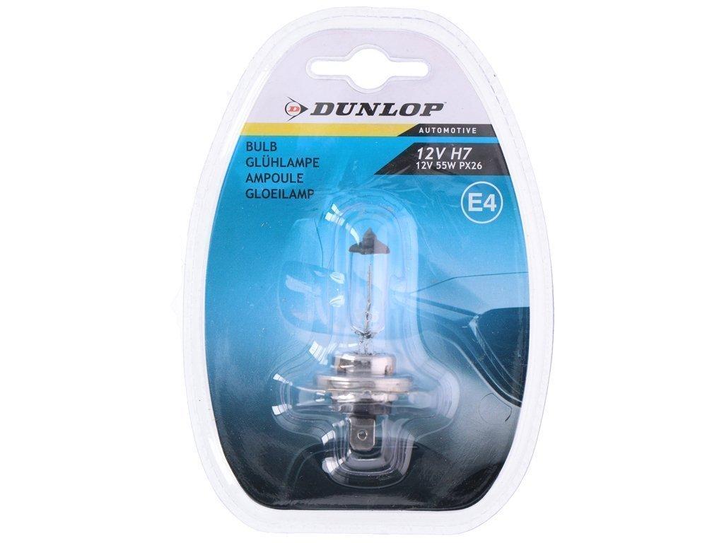Dunlop Λάμπα Αυτοκινήτου H7 12V 55W E4