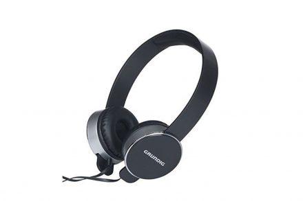 Ρυθμιζόμενα Στερεοφωνικά Ακουστικά On-Ear 105dB σε Ασημί Χρώμα