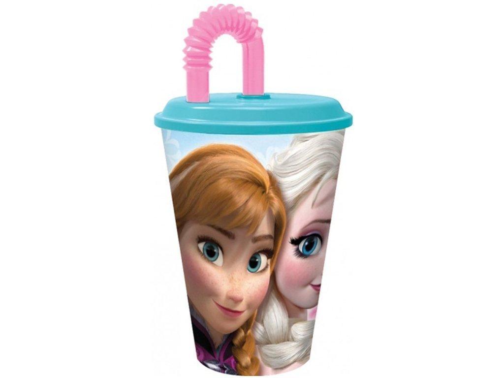 Disney Κοριτσίστικο Παγουρίνο Ποτήρι με Σπαστό καλαμάκι στο Καπάκι