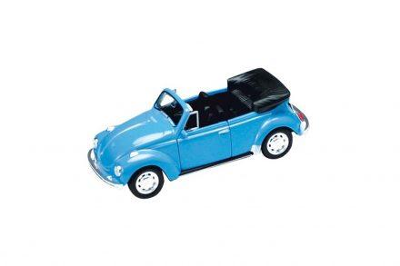 Μεταλλικό Αυτοκίνητο Μινιατούρα Volkswagen Beetle σε κλίμακα 1:34 Official Licensed Product σε Μπλε χρώμα