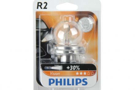 Philips Λάμπα Αυτοκινήτου R2 12V 45/40W Vision