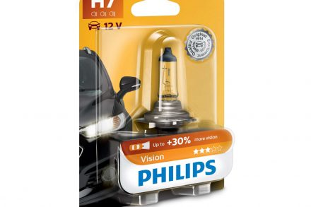 Philips Λάμπα Αυτοκινήτου H7 12V 55W Vision
