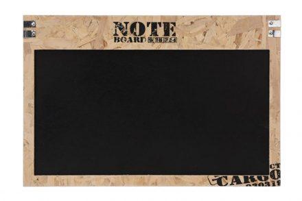 Κρεμαστός Ξύλινος Μαυροπίνακας Κιμωλίας για σημειώσεις 60x1.5x40cm