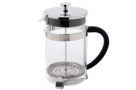Berlinger Haus Χειροκίνητη Καφετιέρα για Γαλλικό και Τσάι 800ml από Γυαλί και Ανοξείδωτο ατσάλι
