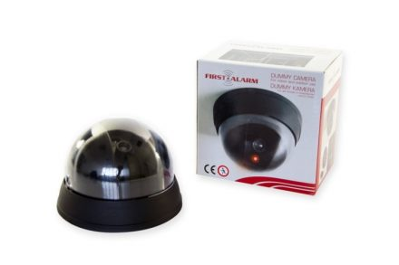 First Alarm Ψεύτικη Κάμερα παρακολούθησης Dummy Security Camera σε Μαύρο χρώμα - First Alarm