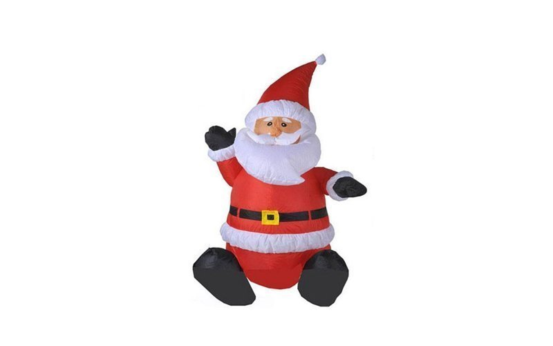 Christmas Gifts 78519 Διακοσμητικός Άγιος Βασίλης Φουσκωτός 120cm με LED εσωτερικό φωτισμό - Christmas Gifts