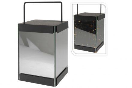 Μεταλλικό Διακοσμητικό  Ηλεκτρικό Φαναράκι με Led φωτισμό  κατάλληλο για εσωτερική και εξωτερική διακόσμηση