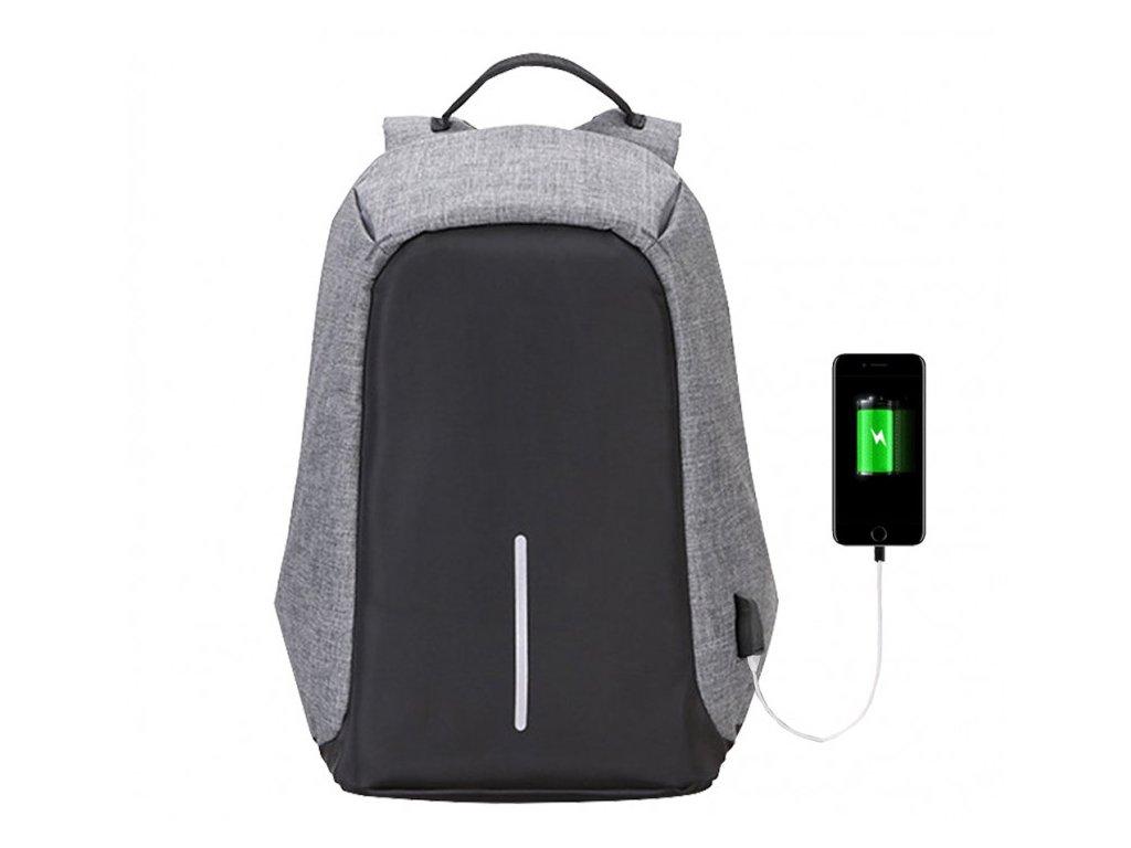 Αντικλεπτικό Σακίδιο Πλάτης με θύρα USB Αθλητική Τσάντα
