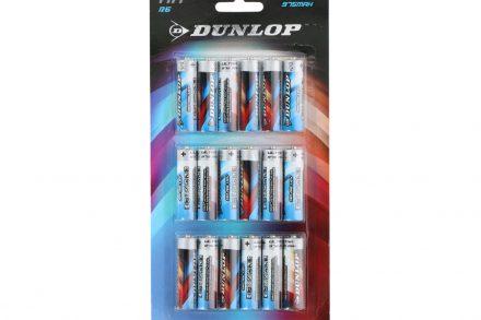 Dunlop Μπαταρίες Ψευδαργύρου ΑΑ LR6 συσκευασία 18 τεμ.