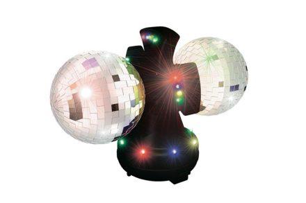 Party Fun Lights 86489 Φωτιστικό LED με 2 Ντισκομπάλες Καθρέπτη 12V - Party Fun Lights