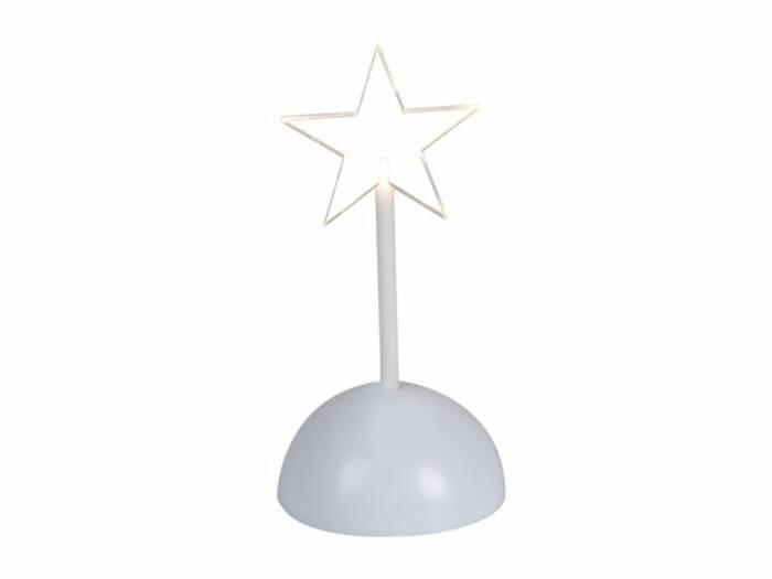 Christmas Gifts Διακοσμητικό Χριστουγεννιάτικο Φωτιστικό Αστέρι με φωτισμό LED σε Βάση