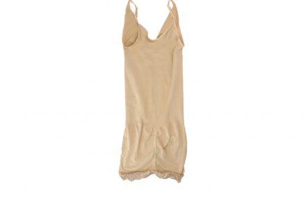Γυναικείο Φόρεμα - Κορσές Αδυνατίσματος  Για Τέλειο Σχήμα και όψη σε Μπεζ Χρώμα