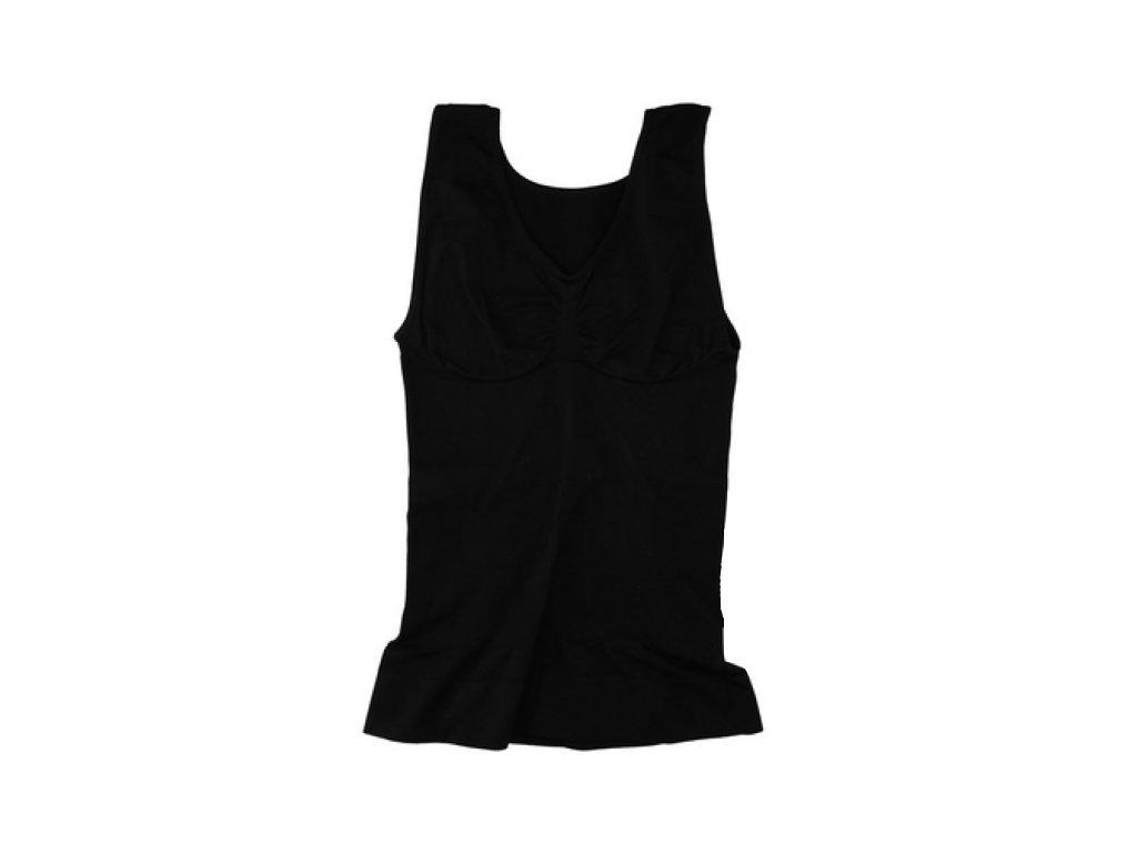 Φανέλα Κορσές για Τέλειες Καμπύλες και Όψη σε Μαύρο χρώμα