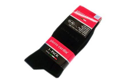 Pierre Cardin Ανδρικές Κάλτσες σετ 3 ζευγαριών σε Μαύρο χρώμα - Pierre Cardin