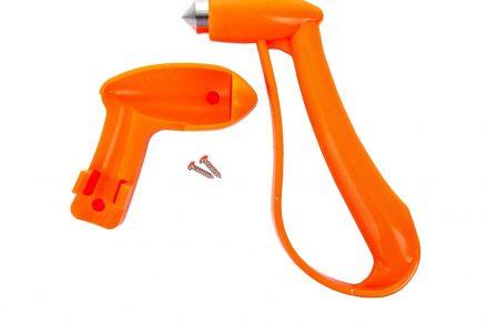 All Ride Σφυρί έκτακτης ανάγκης για θραύση τζαμιών σε πορτοκαλί χρώμα - All ride