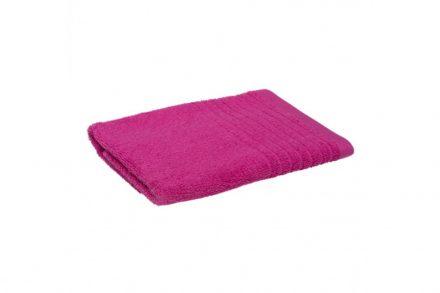 Βαμβακερή Πετσέτα Μπάνιου Χεριών 50x100cm με Απλό Σχέδιο σε Ροζ Χρώμα
