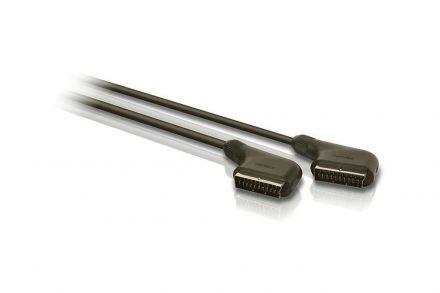 Philips Scart Cable Καλώδιο Υψηλής Ποιότητας Ήχου και Εικόνας 1.5 μέτρου