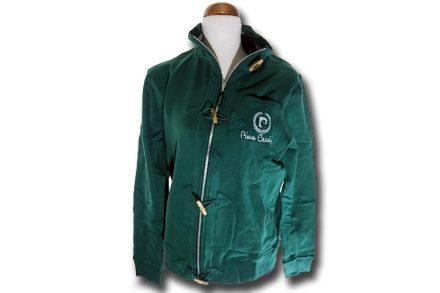 Pierre Cardin Ανδρική Ζακέτα Pierre Cardin σε Πράσινο Χρώμα με λογότυπο στο στήθος και φερμουάρ - Pierre Cardin