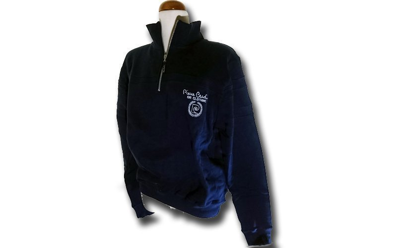 Ανδρική Ζακέτα Pierre Cardin σε Navy Χρώμα με λογότυπο στο στήθος και φερμουάρ