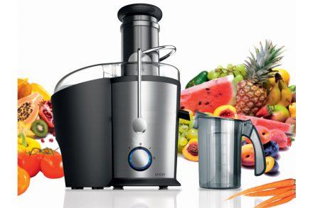 Sogo Ανοξείδωτος Αποχυμωτής 800W για Εξαγωγή Χυμών από Φρούτα και Λαχανικά
