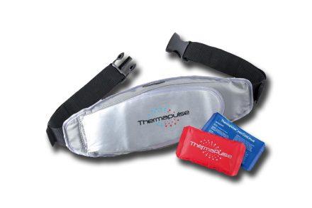 Ζώνη μασάζ για χαλάρωση απο μυϊκούς πόνους με ζεστά και κρύα επιθέματα
