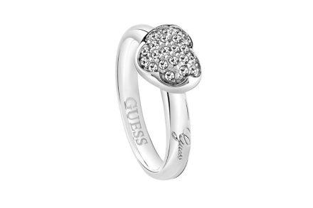 Γυναικείο Κόσμημα Δαχτυλίδι από Ανοξείδωτο Ατσάλι με Κρυσταλλάκια