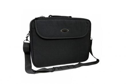 """Esperanza Υφασμάτινη Τσάντα για Λάπτοπ Laptop Notebook Classic 15.6"""" με Ρυθμιζόμενο Ιμάντα σε Μαύρο χρώμα"""