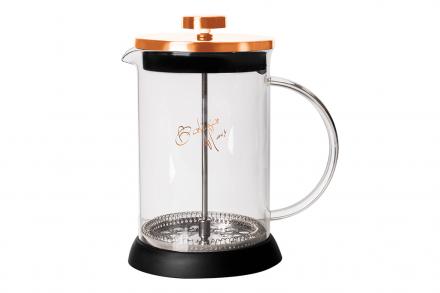 Berlinger Haus Χειροκίνητη Καφετιέρα για Γαλλικό και Τσάι 350ml από Ανοξείδωτο ατσάλι