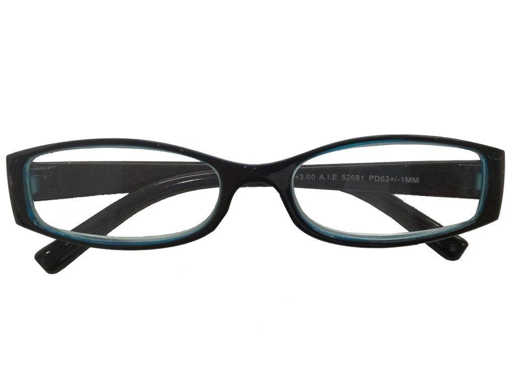 Lifetime Vision Unisex Γυαλιά Πρεσβυωπίας Διαβάσματος με Λεπτό Μπλε-Μαύρο σκελετό και βαθμό +3.00