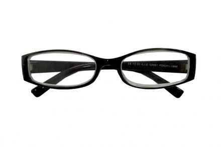 Fashion Zone Unisex Γυαλιά Πρεσβυωπίας Διαβάσματος με Λεπτό Διάφανο Μαύρο σκελετό και βαθμό +1.50