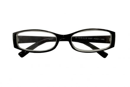Lifetime Vision Unisex Γυαλιά Πρεσβυωπίας Διαβάσματος με Λεπτό Διάφανο Μαύρο σκελετό και βαθμό +1.50