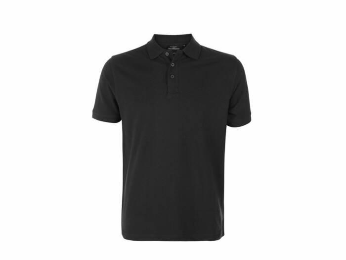 Pierre Cardin Ανδρικό μπλουζάκι polo T-Shirt με κοντό μανίκι και κουμπιά σε Μαύρο χρώμα - Pierre Cardin