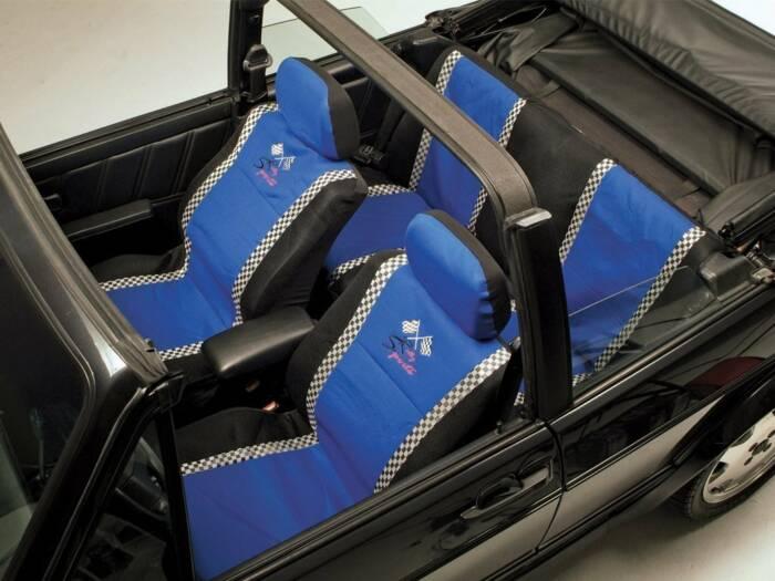 All Ride Universal Καλύμματα Καθισμάτων Αυτοκινήτου σετ 6 τεμ σε Μπλε χρώμα rally