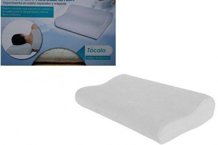 Μαξιλάρι ύπνου Memory Foam Pillow σε λευκό χρώμα