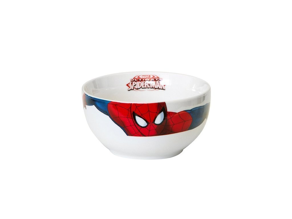 Disney Παιδικό Μπολ 13cm από Πορσελάνη με θέμα Spiderman