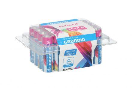 Grundig Αλκαλικές Μπαταρίες Συσκευασία 24 τεμαχίων AA 2100mah LR6 1.5 Volt - Grundig