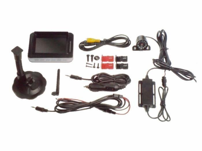 All Ride Σύστημα Παρκαρίσματος με Universal Αδιάβροχη Ασύρματη Κάμερα οπισθοπορείας