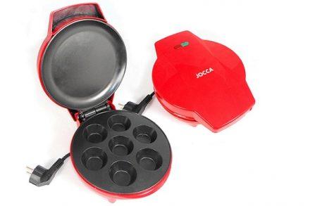 JOCCA 5512 Παρασκευαστής Muffin Cupcake maker 900W με 7 θέσεις - JOCCA home & life