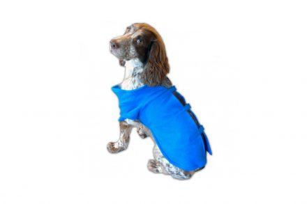 Κάλυμμα με Μανίκια για Σκύλους και κατοικίδια 50x25cm από Πολυεστέρα σε Μπλε χρώμα