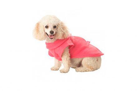 Κάλυμμα με Μανίκια για Σκύλους και κατοικίδια 50x25cm από Πολυεστέρα σε Ροζ χρώμα