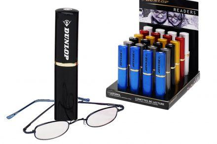 Dunlop Unisex Γυαλιά Πρεσβυωπίας Διαβάσματος σε Μαύρη Θήκη